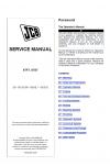 JCB 6TFT Powershift, 6TST Powershift Service Manual