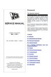 JCB 48Z-1, 51R-1 Midi Excavator Tier 3 Perkins Engine Service Manual