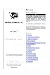 JCB 55Z-1, 57C-1 Midi Excavator, Tier Kohler 4 Engine Service Manual