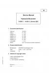 Liebherr A922 Rail Litronic Hydraulic Excavator Tier 4i Stage III-B Service Manual