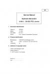 Liebherr E934C/E944C/E954C Hydraulic Excavator Service Manual