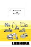Liebherr TH4 Diesel Engine Service Manual