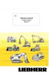 Liebherr D846TI Diesel Engine Service Manual