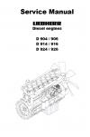 Liebherr D904-926 Diesel Engines Service Manual