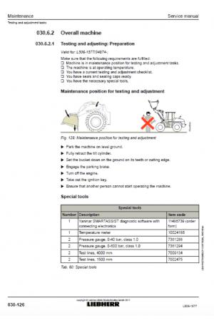 Liebherr L506-1577 Tier 4i Stage III-B Service Manual