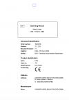 Liebherr Liebherr L508 Stereo Wheel Loader Tier 2 Stage II Operator's and Maintenance Manual