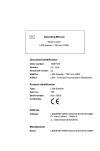 Liebherr Liebherr L509 Stereo Wheel Loader Tier 2 Stage II Operator's and Maintenance Manual