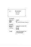 Liebherr Liebherr L509 Wheel Loader Tier 4i Stage III-B Operator's and Maintenance Manual