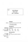 Liebherr L524-L542 2plus1 Tier 3 Stage IIIA Service Manual