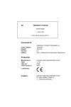 Liebherr Liebherr L542 Wheel Loader Tier 4i Stage III-B Operator's and Maintenance Manual