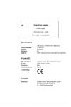 Liebherr Liebherr L550 Wheel Loader Tier 3 Stage III-A Operating Manual
