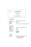 Liebherr Liebherr L556 Wheel Loader Tier 3 Stage III-A Operating Manual