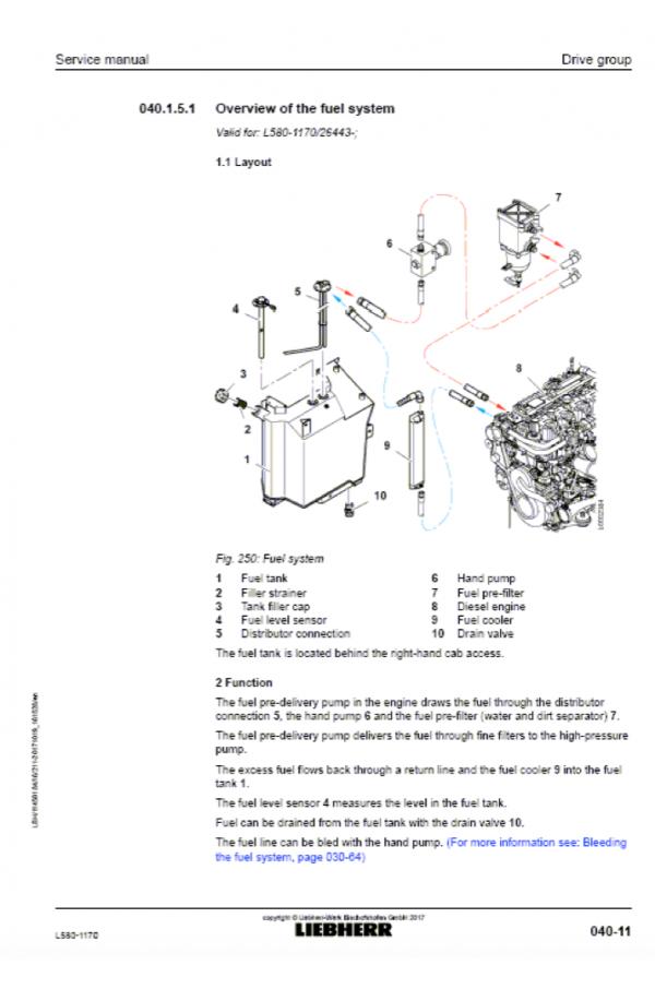 liebherr l580 1170 tier 4i stage iii b service manual rh heavymanuals com epson lx 1170 service manual 1170 Numbers