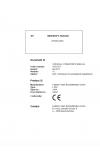 Liebherr Liebherr L580-1464 Wheel Loader Tier 4f Stage IV Operator's and Maintenance Manual