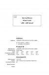 Liebherr Liebherr L580 2plus2 Wheel Loader Tier 3 Stage III-A Operator's Manual