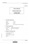 Liebherr A900-ZW Hydraulic Excavator Tier 2 Stage II Service Manual