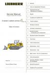 Liebherr R9350/R994B Hydraulic Excavator Service Manual
