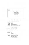Liebherr Liebherr LR624 Series 4 Operator's and Maintenance Manual