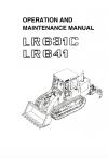 Liebherr Liebherr LR631 Series 1 Operation and Maintenance Manual