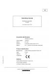 Liebherr Liebherr P9250 Hydraulic Excavator Operator's and Maintenance Manual