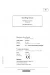 Liebherr Liebherr P9250E Hydraulic Excavator Operator's and Maintenance Manual