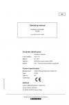 Liebherr Liebherr P9350 Hydraulic Excavator Operator's and Maintenance Manual