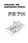 Liebherr Liebherr PR711 Series 1 Operation and Maintenance Manual
