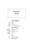 Liebherr Liebherr PR724 Series 4 Operator's and Maintenance Manual