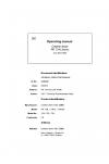 Liebherr Liebherr PR734 Series 4 Operator's and Maintenance Manual