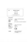 Liebherr Liebherr PR746 Series 6 Operator's and Maintenance Manual