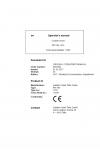 Liebherr Liebherr PR756 Series 6 Operator's and Maintenance Manual