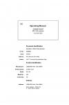 Liebherr Liebherr PR764 Series 4 Operator's and Maintenance Manual
