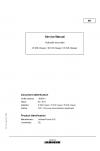 Liebherr LH60 Hydraulic Excavator Tier 4i Stage III-B Service Manual