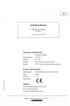 Liebherr Liebherr R9100 Hydraulic Excavator Operator's and Maintenance Manual