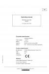 Liebherr Liebherr R9200 Hydraulic Excavator Operator's and Maintenance Manual