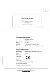 Liebherr Liebherr R9250 Hydraulic Excavator Operator's and Maintenance Manual