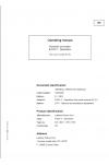 Liebherr Liebherr R934C Hydraulic Excavator Tier 3 Stage III-A Operator's and Maintenance Manual