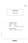 Liebherr A900C-ZW Hydraulic Excavator Tier 3 Stage III-B Service Manual