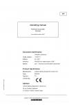 Liebherr Liebherr R9350E Hydraulic Excavator Operator's and Maintenance Manual