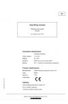 Liebherr Liebherr R9350 Hydraulic Excavator Operator's and Maintenance Manual