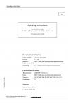 Liebherr Liebherr R954C Hydraulic Excavator Tier 3 Stage III-A Operator's and Maintenance Manual