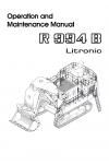 Liebherr Liebherr R994B Litronic Excavator Operator's and Maintenance Manual