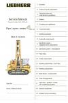 Liebherr PR 711C-751 Series 1C Crawler Dozers Service Manual