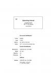 Liebherr Liebherr SR712 Series 2 Operator's and Maintenance Manual