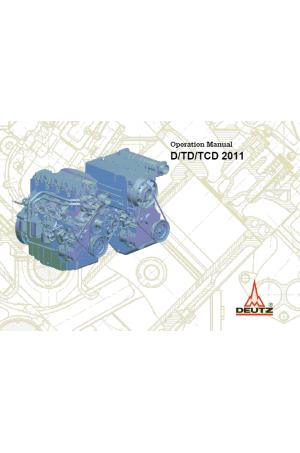 Deutz Deutz Wheel Loaders Tier 3 Stage III-A TCD2011 Operator's and Maintenance Manual