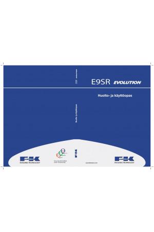 Kobelco E9SR Operator`s Manual