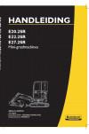 New Holland CE E20.2SR, E22.2SR, E27.2SR Operator`s Manual