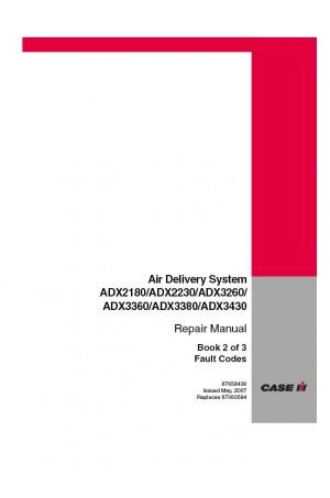 Case IH 0-324-G, ADX2180, ADX2230, ADX3260, ADX3360 Service Manual