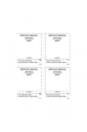 Case 40XT Service Manual