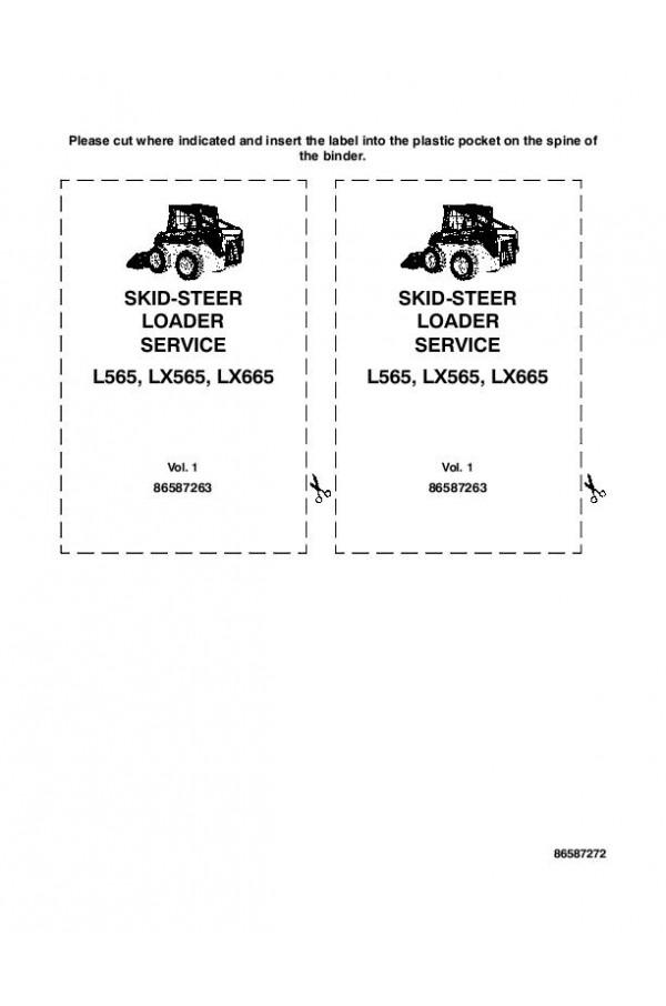 new holland l565 lx565 lx665 service manual rh heavymanuals com new holland lx565 repair manual new holland skid steer service manual lx565